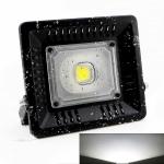 30W Waterproof 6000K White Light LED Floodlight Lamp