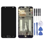 LCD Screen and Digitizer Full Assembly with Frame for Asus ZenFone V Live / V500KL (Black)
