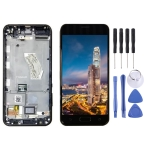 LCD Screen and Digitizer Full Assembly with Frame for Asus ZenFone V / V520KL / A006 (Black)