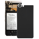 Back Cover with Camera Lens for Blackberry Keyone(Black)