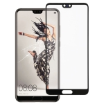 Front Screen Outer Glass Lens for Huawei P20 (Black)