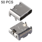 50 PCS USB-C / Type-C Female 16 Pin SMT Connector