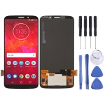 LCD Screen and Digitizer Full Assembly for Motorola Moto Z3 Play(Black)