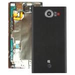 Back Cover with Camera Lens for Blackberry Priv (US Version)(Black)
