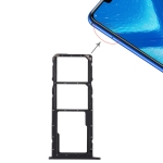 SIM Card Tray + Micro SD Card Tray for Huawei Honor 8X (Black)