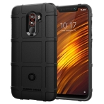 Full Coverage Shockproof TPU Case for Xiaomi Pocophone F1 (Black)