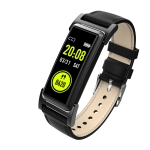 KR03 0.96 inch TFT Color Screen GPS Tracking Smart Bracelet IP68 Waterproof,Support Heart Rate Monitoring /Pedometer /Multi-sports Modes /Information Push (Black)