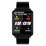 QF1 1.44 inch TFT Color Screen Smart Bracelet IP67 Waterproof, Support Heart Rate Monitoring /Blood Pressure Monitoring /Blood oxygen monitoring /Sleep Monitoring /Sedentary Reminder /Information Push (Black)