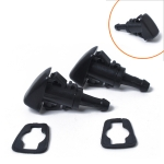 2 PCS Windshield Washer Wiper Jet Water Spray Nozzle 5113049AA for 2001-2013 Chrysler Jeep / dodge