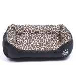Animal Grain Four Seasons Genuine Warm Pet Dog Kennel Mat Teddy Dog Mat, Size: S, 43×32×10cm (Amber)