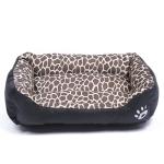Animal Grain Four Seasons Genuine Warm Pet Dog Kennel Mat Teddy Dog Mat, Size: XL, 80×60×16cm (Amber)