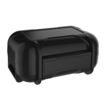 KZ ABS Resin Waterproof and Shockproof Sleeve Portable Earphone Storage Box (Black)