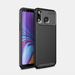 Beetles Series Full Coverage Detachable TPU Protective Cover Case for Galaxy A6s (Black)