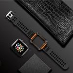 TOTUDESIGN Armour Series TPU+PC Watch Strap for Apple Watch Series 4 40mm (Orange)