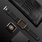 TOTUDESIGN Armour Series TPU+PC Watch Strap for Apple Watch Series 4 44mm(Orange)