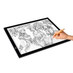 8W 5V LED USB Three Level of Brightness Dimmable A3 Acrylic Scale Copy Boards Anime Sketch Drawing Sketchpad with USB Cable & Power Adapter