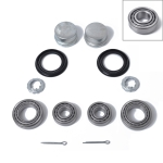 2 Set Car Bearing Repair Kit Wheel Hub Bearing Maintenance Kit 191598625 for Audi / Volkswagen