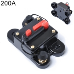 200A DC 12-24V Car Audio Stereo Circuit Breaker Automatic Reset Fuse Holder