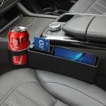 Universal Car Multi-functional Console Side Pocket Seat Gap Side Storage Box (Black)
