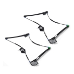 Car Front Glass Lifter Window Lifter Accessories Left 3B1837461 and Right 3B1837462 for Volkswagen Passat Skoda