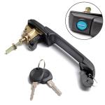 A0170 Car Front Door handle 1H0837207C,1H4839205 + 2 keys for Volkswagen
