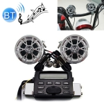 1 Set AOVEISE MT723 12V Multi-functional Waterproof Motorcycle Bluetooth Modified Audio Amplifier, Support FM & Wired Control