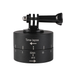 360 Degree Auto Rotation Camera Mount for GoPro(Black)