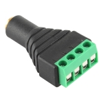 3.5mm Female Plug 4 Pin Terminal Block Stereo Audio Connector