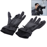 Outdoor Sports Wind-stopper Full Finger Winter Warm Photography Gloves, Size: L