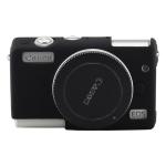 Soft Silicone Protective Case for Canon M100 (Black)