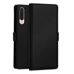 DZGOGO MILO Series PC + PU Horizontal Flip Leather Case for Huawei P30, with Holder & Card Slot & Wallet (Black)