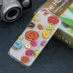 Doughnut Pattern Transparent TPU Protective Case for Huawei P30