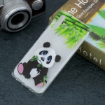 Panda Pattern Transparent TPU Protective Case for Huawei P30