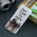 Dog Pattern Transparent TPU Protective Case for Huawei P30