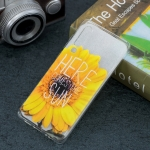 Sunflower Pattern Transparent TPU Protective Case for Huawei P30