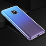 TOTUDESIGN Soft Series Droppoof TPU Protective Case for Huawei Mate 20 Pro (Transparent)