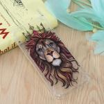 Lion King Pattern Oil Embossed TPU Case for Huawei Enjoy 9