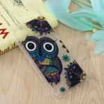 Owl Pattern Oil Embossed TPU Case for Huawei Enjoy 9