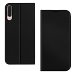 DZGOGO ISKIN Series Slight Frosted PU+ TPU Case for Huawei P30 (Black)