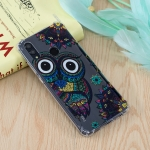 Owl Pattern Oil Embossed TPU Case for Huawei Honor 10 Lite / P Smart (2019)