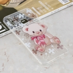 Bear Pattern Transparent Clear TPU Case for Huawei Y9 (2019) / Enjoy 9 Plus