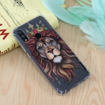 Lion King Pattern Oil Embossed TPU Case for Huawei Honor 10 Lite / P Smart (2019)
