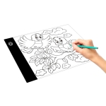 A5 Size Ultra-thin USB Three Level of Brightness Dimmable Acrylic Copy Boards Anime Sketch Drawing Sketchpad, with USB Cable & Plug