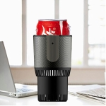 Portable Intelligent Cooling and Heating Cup Holder (Black)