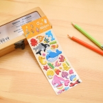 2 PCS Sea World Pattern Creative Cartoon Children DIY Album Diary Decorative Stereo Bubble Sticker