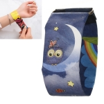 Owl Pattern Creative Fashion Waterproof Paper Watch Intelligent Paper Electronic Wristwatch
