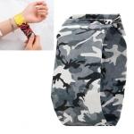 Camouflage Black Pattern Creative Fashion Waterproof Paper Watch Intelligent Paper Electronic Wristwatch