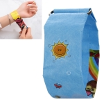 Sunlight Pattern Creative Fashion Waterproof Paper Watch Intelligent Paper Electronic Wristwatch
