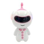 Children Intelligent Early Education Robot Learning Story Machine, Support TF Card / WIFI(Pink)
