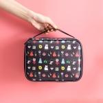 Cartoon Pattern Portable Personal Cosmetic Bag